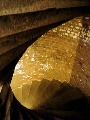 Photograph - Fort Jefferson Staircase I by Andy Jeter
