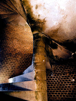 Photograph - Fort Jefferson Staircase II by Andy Jeter