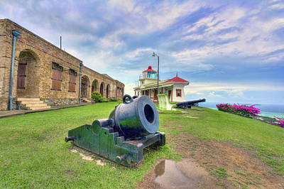Photograph - Fort King George Lighthouse by Nadia Sanowar