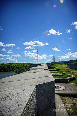 Photograph - Fort Knox Wall by Alana Ranney