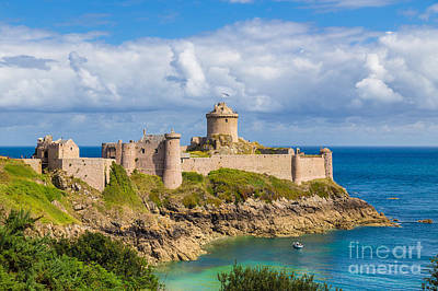 Photograph - Fort La Latte by JR Photography