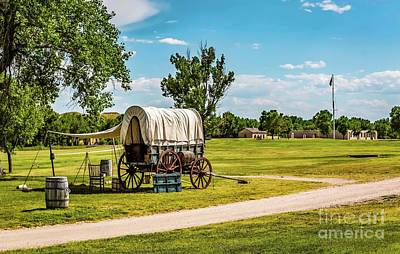 Photograph - Fort Laramie by Jon Burch Photography