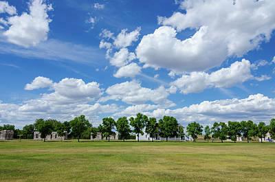 Photograph - Fort Laramie Parade Ground by Debra Martz
