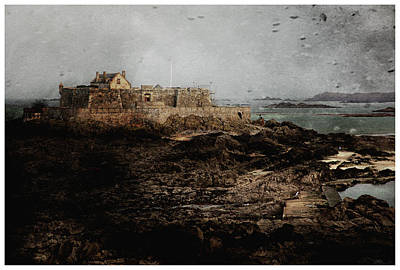Photograph - Fort Lareine Normandy France by Hugh Smith
