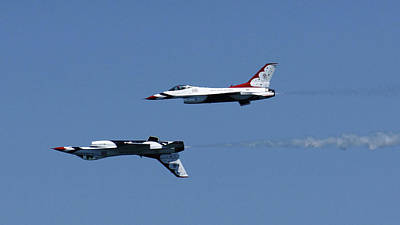Photograph - Fort Lauderdale Air Show Jets by Lawrence S Richardson Jr