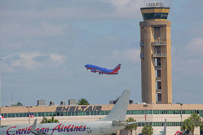 Photograph - Fort Lauderdale Airport by Dart and Suze Humeston