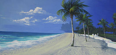 Fort Lauderdale Beach Art Print