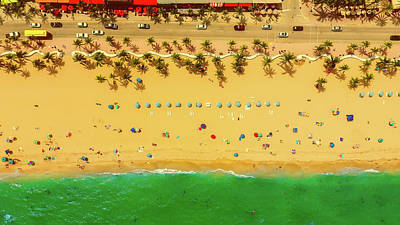 Waves Photograph - Fort Lauderdale Florida by Lance Asper