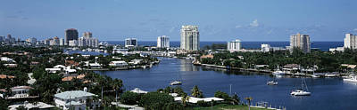 Residential Structure Photograph - Fort Lauderdale, Florida, Usa by Panoramic Images