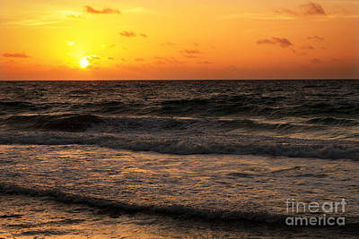 Fort Lauderdale Sunrise Art Print by Eyzen M Kim