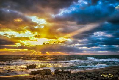 Photograph - Fort Lauderdale Sunrise by Rikk Flohr