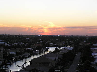 Fort Lauderdale Sunset Art Print
