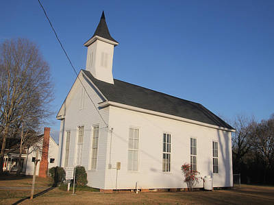 Photograph - Fort Lawn Church by Joseph C Hinson Photography