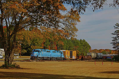 Photograph - Fort Lawn Train 14 by Joseph C Hinson Photography