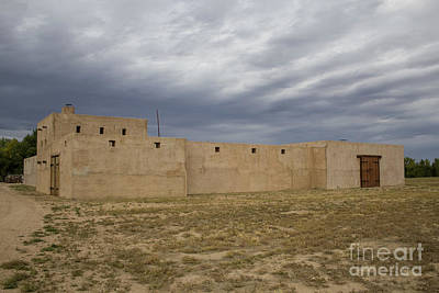 Photograph - Fort Lupton by Steven Parker