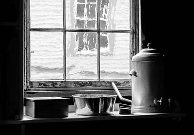 Photograph - Fort Mackinac Kitchen View by Betty Denise