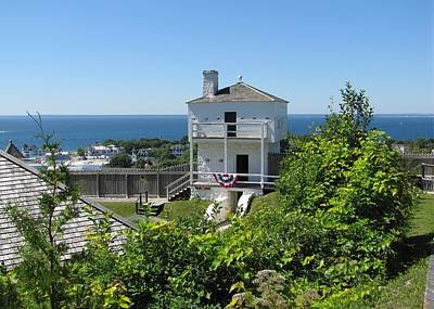 Photograph - Fort Mackinac West Blockhouse by Keith Stokes