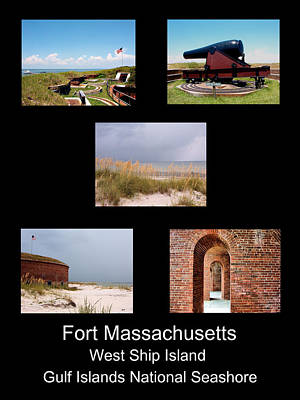 Photograph - Fort Massachusetts Poster by Kathy K McClellan