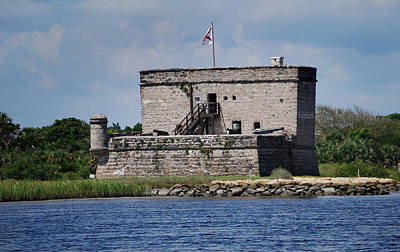 Old Fort Photograph - Fort Matanzas by Skip Willits
