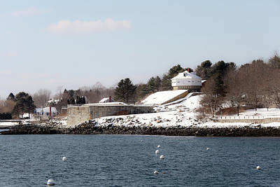 Photograph - Fort Mcclary by Mark Alesse