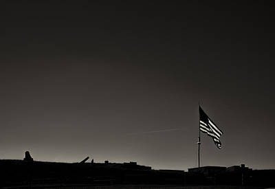 Bombs Bursting In Air Photograph - Fort Mchenry by Geoffrey Baker