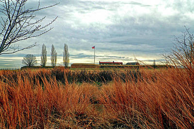 Photograph - Fort Mchenry In A Field Of Dreams by Bill Swartwout