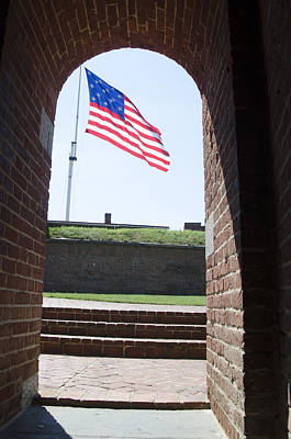 Mchenry Photograph - Fort Mchenry Star Spangled Banner by Bill Cannon