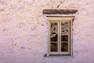 Photograph - Fort Mckavett - Officers Quarters Window by Debra Martz
