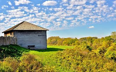 Photograph - Fort Meigs View by Michelle McPhillips