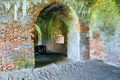 Photograph - Fort Morgan Brick by Kristin Elmquist