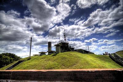 Fort Moultrie Bunker Original by Dustin K Ryan