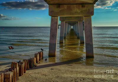 Photograph - Fort Myers Beach by Judy Hall-Folde