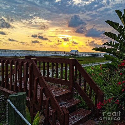 Photograph - Fort Myers Sunset 1 by Paul Mashburn