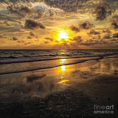 Photograph - Fort Myers Sunset 3 by Paul Mashburn