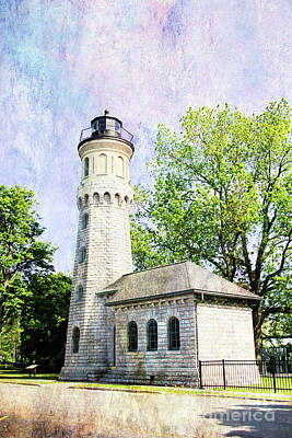 Digital Art - Fort Niagara Light by Linda Joyce