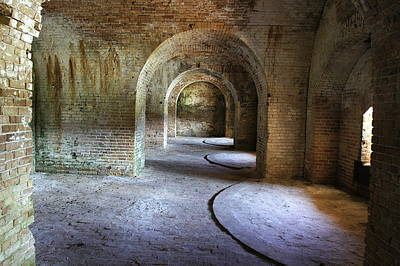 Photograph - Fort Pickens 3 by Laurie Perry