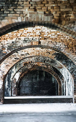 Photograph - Fort Pickens At Pensacola Beach by Shelby  Young