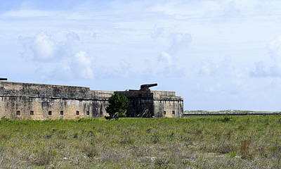 Photograph - Fort Pickens by Laurie Perry