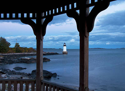 Photograph - Fort Pickering Light - Salem Ma by Joann Vitali