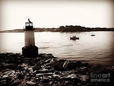 Photograph - Fort Pickering Lighthouse, Winter Island, Salem, Massachusetts by Lita Kelley