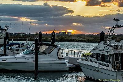 Photograph - Fort Pierce Marina by Nance Larson