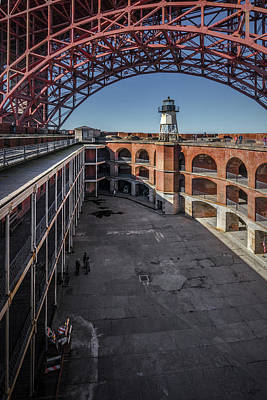 Photograph - Fort Point 4 by Laura Macky