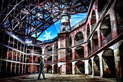 Digital Art - Fort Point by Mike Braun