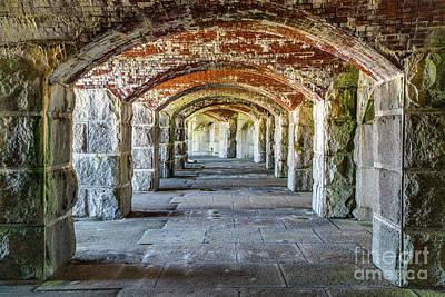 Photograph - Fort Popham by Benjamin Williamson
