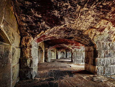 Photograph - Fort Popham by Gary Shepard