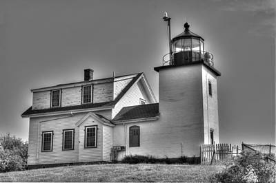 Sky Photograph - Fort Point Lighthouse by Ralph Staples