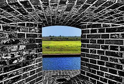 Photograph - Fort Pulaski - Tybee Island 002 by George Bostian