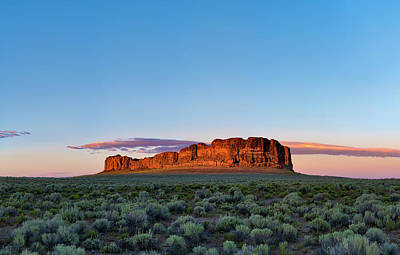 Photograph - Fort Rock by Ken Aaron
