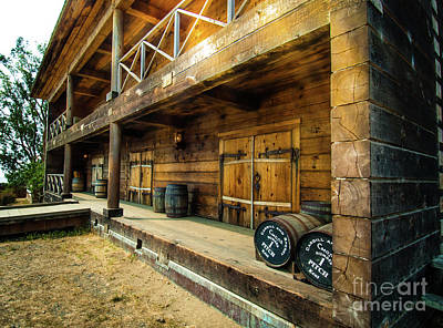 Photograph - Fort Ross General Merchandise Store by Blake Webster