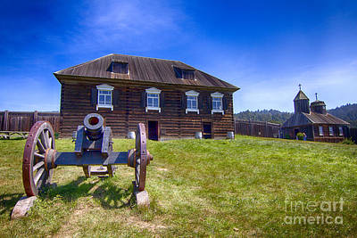 Photograph - Fort Ross State Historic Park by Jason Abando